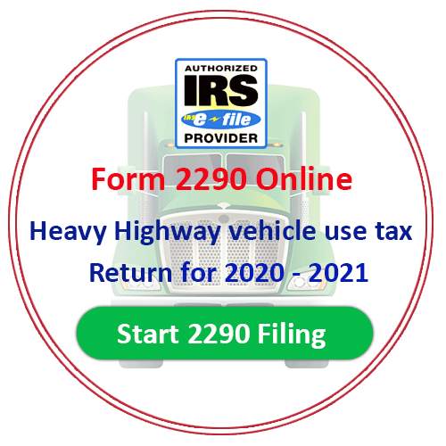 Form 2290 Form 2290 Online Heavy Vehicle Use Tax Form 2290