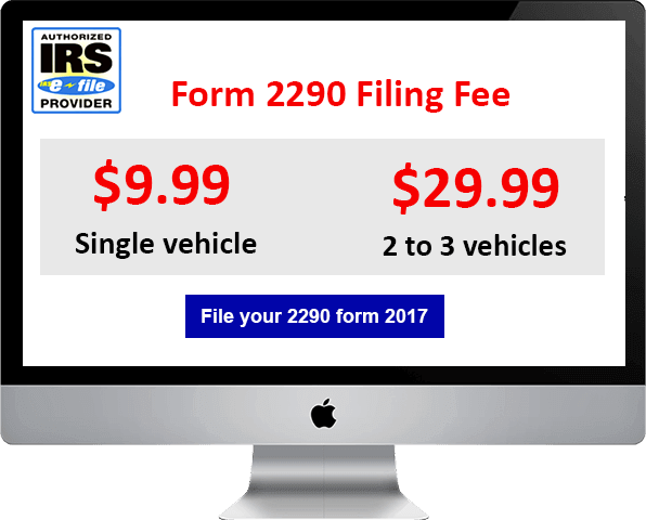 Form 2290 Form 2290 Online Truck Tax 2290 Efile2290